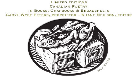 Limited Edition Books: Canadian Poetry Books and Short Stories